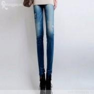 Quần legging dài giả jean ngôi sao nổi chỉ 60.000 vnđ hiện đại, trẻ trung và đầy phong cách cho bạn gái