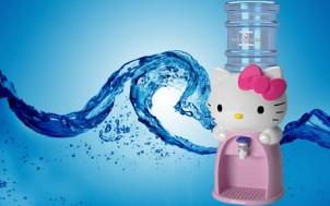 Bình đựng nước uống Hello Kitty xinh xắn giá chỉ 290.000đ cho giá thị trường 450.000đ