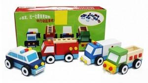 Bộ đồ chơi tháo lắp 4 ô tô bằng gỗ - Thêm một món quà hữu ích, thêm một bài học đầu đời cho con yêu. Sản phẩm trị giá 129.000 còn 75.000. Ưu đãi lên đến 42% có tại