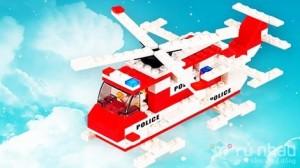 Bộ xếp hình máy bay Police 148 miếng - Cho con yêu thỏa sức sáng tạo với đồ chơi thông minh. Sản phẩm trị giá 136.000 ưu đãi 50% còn 68.000 chỉ có tại