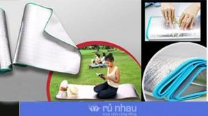 Chiếu du lịch cá nhân: Tiện lợi để dùng trong văn phòng, đi du lịch hoặc picnic ngoài trời. Sản phẩm làm bằng nhựa siêu nhẹ, có thể xếp và lâu sạch chỉ với 45.000đ. Đừng bỏ lỡ cơ hội tại