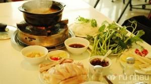 Nhà hàng Anh Béo: Set ăn lẩu vịt 7 món đi kèm dành cho 01 người - Giá không thể rẻ hơn - Món ăn ngon tuyệt trong không gian sang trọng. Set ăn trị giá 79.000, nay chỉ còn 48.000 với mức ưu đãi 39% chỉ có tại