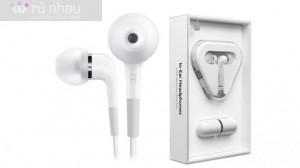 Bộ tai nghe Iphone có mic: Thiết kế trang nhã, Cho âm thanh trung thực và hoàn hảo, nghe nhạc tuyệt hay. Sản phẩm trị giá 359.000đ giảm còn 195.000đ. Chỉ có tại Rủ nhau