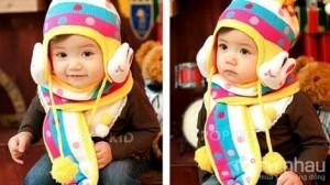 Bộ mũ len tai thỏ kèm khăn cho bé - Chất liệu ấm áp - Kiểu dáng dễ thương - Màu sắc rực rỡ sáng bừng khuôn mặt của bé. Bộ sản phẩm trị giá 155.000 ưu đãi 43% còn 89.000 chỉ có tại