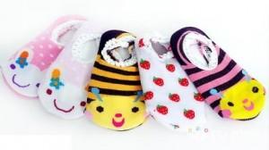 Combo 05 đôi tất len hoạt hình chống trơn dành cho bé từ 0-4 tuổi - Mỗi ngày một đôi tất ấm và dễ thương dành cho con yêu. Sản phẩm trị giá 140.000 ưu đãi 40% còn 85.000