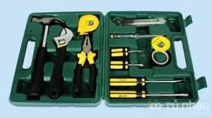 Hộp dụng cụ sửa chữa đa năng 12 món - Trợ thủ đắc lực cho người đàn ông trong gia đình - Tiện dụng, xử lý nhanh chóng hỏng hóc trong nhà. Bộ sản phẩm trị giá 320.000 ưu đãi 50% còn 160.000 chỉ có tại