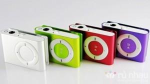Máy nghe nhạc MP3 kiểu dáng iPod (không kèm thẻ nhớ) - Thiết kế nhỏ gọn, nhiều màu sắc thời trang. Sản phẩm trị giá 150.000 ưu đãi 50% còn 75.000. Cơ hội không thể bỏ lỡ trên