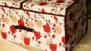 Hộp vải đựng đồ 2 ngăn tiện dụng - Sản phẩm làm từ chất liệu vải không dệt thân thiện với môi trường - Sử dụng vào nhiều mục đích của cả gia đình. Sản phẩm trị giá 170.000 ưu đãi 50% còn 85.000