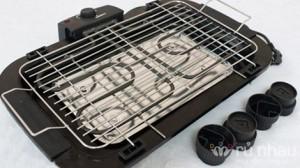 Bếp nướng không khói Electric Barbecue Grill - Chiêu đãi cả nhà món nướng thơm lừng trong tiết trời se lạnh . Sản phẩm trị giá 750.000 ưu đãi 51% còn 368.000 chỉ có tại