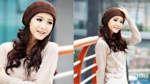 Mũ len thời trang nữ - 3 màu cơ bản mang đến vẻ đẹp dễ thương và ấm áp cho bạn gái. Sản phẩm trị giá 95.000 ưu đãi 40% còn 58.000. Duy nhất có tại