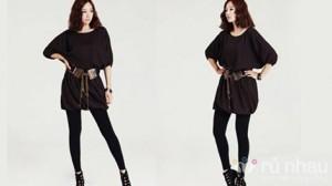 Quần legging dài thời trang - Năng động, cá tính, dễ mix gu thẩm mĩ. Sản phẩm trị giá 125.000 ưu đãi 45% còn 69.000 chỉ có tại