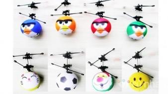 Quả bóng bay cảm ứng hồng ngoại Mini Flyer Smile Face - Món đồ chơi vận động trong nhà sáng tạo. Quà tặng thú vị cho tất cả mọi người. Sản phẩm trị giá 350.000 ưu đãi 47% còn 186.000. Duy nhất có tại
