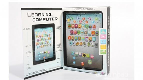 Máy tính bảng đồ chơi trẻ em: Giúp trẻ làm quen với các chữ cái, từ tiếng Anh cơ bản và các con số. Sản phẩm có những hình ảnh ngộ nghĩnh, màu sắc bắt mắt, bàn phím nhẹ nhàng, chỉ 85.000đ - 1 - 2 - Đồ Dùng Điện - 1 - 2 - Đồ Dùng Điện - Đồ Dùng Điện