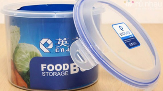 BỘ 3 HỘP NHỰA ENOLAND: giúp bảo quản và chứa đựng thức ăn thật an toàn, vệ sinh, ngăn nắp. Sản phẩm trị giá 180.000 giảm còn 98.000đ. Đừng bỏ lỡ cơ hội tại rủ nhau - Đồ Dùng Nhà Bếp