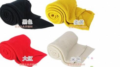Khăn len quàng cổ đan tay dành cho bạn gái với 4 màu điệu đà - Bổ sung vào bộ sưu tập khăn của bạn gái một chiếc khăn handmade có chất lượng. Sản phẩm trị giá 140.000 ưu đãi 32% còn 95.000 duy nhất có tại