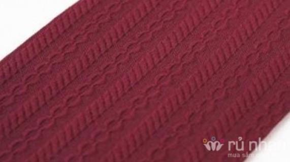 Quần tất Hàn Quốc có hoa văn, chất cotton nhung dai - dày - ấm giúp bạn đổi phong cách nhanh nhất, dễ dàng giặt với máy giặt, thoáng và vẫn ấm. Sản phẩm trị giá 120.000 còn 80.000 hiện đang có tại