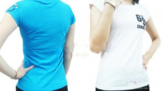ÁO THUN NỮ 69: Mang lại cho bạn gái dáng vẻ khỏe khoắn, năng động, tạo cảm giác thật thoải mái. Sản phẩm trị giá 120.000đ giảm còn 59.000đ. Đừng bỏ lỡ cơ hội tại Rủ nhau - Thời Trang Nữ