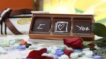 Ru Nhau - Chocolate 3D - Qua tang ngot ngao cho ngay le Tinh Nhan - 100% Chocolate Bi nguyen chat - Hop qua cung sang trong, dinh no xinh xan. San pham tri gia 250.000 con 170.000