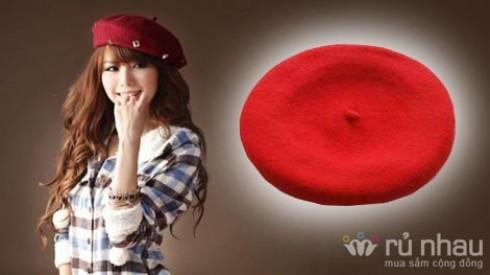 Mũ nồi thời trang nữ - chất liệu len ấm áp - 16 màu rực rỡ. Cùng bạn tỏa sáng trên mỗi bước đi. Sản phẩm trị giá 116.000 còn 58.000. Mức ưu đãi 50% chỉ có tại