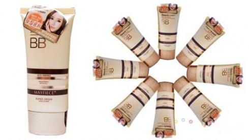 Kem nền BB Mayfiece Hàn Quốc dưỡng ẩm, làm trắng da cho bạn gái lớp nền hoàn hảo. Sản phẩm trị giá 140.000 ưu đãi 50% còn 70.000 hiện đang mở bán tại