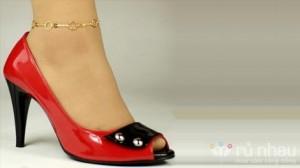 Lắc chân bạc - Tô điểm cho cổ chân thêm xinh xắn - Hộp quà tặng xinh xắn. Sản phẩm trị giá 160.000 ưu đãi 41% còn 95.000 chỉ có tại