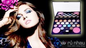 Bộ kit trang điểm Dior 20 màu mắt và 2 màu má - Quyến rũ với đôi mắt biết nói. Sản phẩm trị giá 160.000 ưu đãi 47% còn 85.000