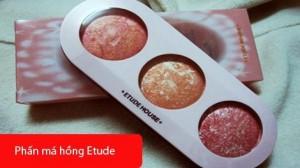 Phấn má hồng Etude với 3 màu xinh tươi: màu hồng, màu cam và màu cam hồng - Cho bạn nét đẹp rạng rỡ và tự nhiên nhất. Sản phẩm trị giá 140.000 ưu đãi 51% chỉ còn 68.000