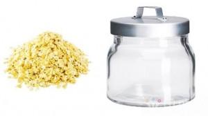 Lọ thủy tinh đựng ngũ cốc IKEA - Sản phẩm cần có trong nhà bếp của bà nội trợ thông thái. Sản phẩm trị giá 98.000 ưu đãi 40% còn 59.000