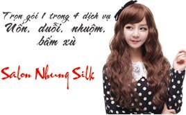 Saha - Uon/duoi/nhuom/bam xu Nhung Silk