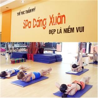 Saha - Voucher khoa hoc the duc tham my - gym + 1 suat xong hoi mien phi