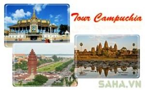 Saha - Tour Campuchia 4N3D 3 diem den
