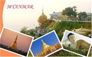 Saha - Tour du lich Myanmar 4 ngay 3 dem