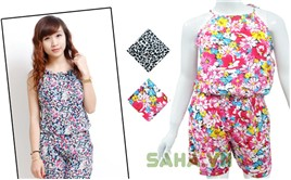 Saha - Jumpsuit hoa co yem