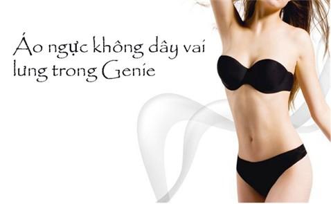 Áo ngực không dây lưng trong Genie