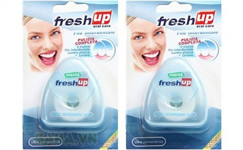 Combo 2 hộp chỉ tơ nha khoa Fresh Up Oral Care