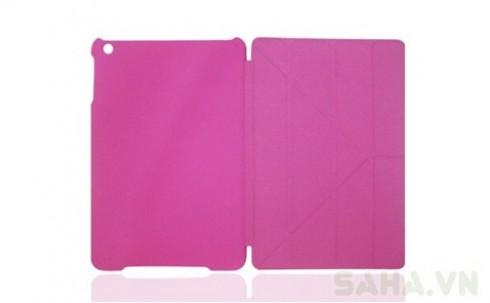 Bao da ipad mini màu hồng nữ tính