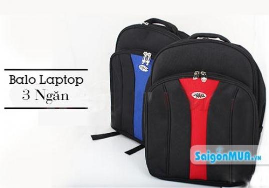 Năng động, chắc chắn bảo vệ laptop của bạn cùng Balô laptop POLO 3 ngăn cao cấp – thiết kế 3 ngăn ...