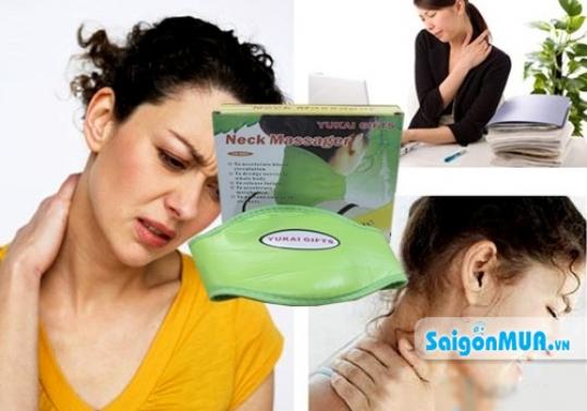 Không lo đau và mỏi cổ với Máy Massage Cổ YG. Giá 220.000Vnđ nay giá tại saigonmua.vn là 120.000vnd