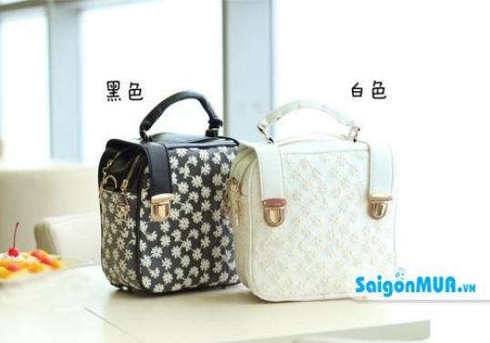Túi xách Retro chất liệu simili giả da bền, đẹp, phong cách cổ điển mà vẫn toát lên nét hiện đại quý ...