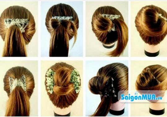 Biến hóa mái tóc mỗi ngày với hàng trăm kiểu khác nhau cùng kẹp đa năng Magic Hair Comb. Giá ...