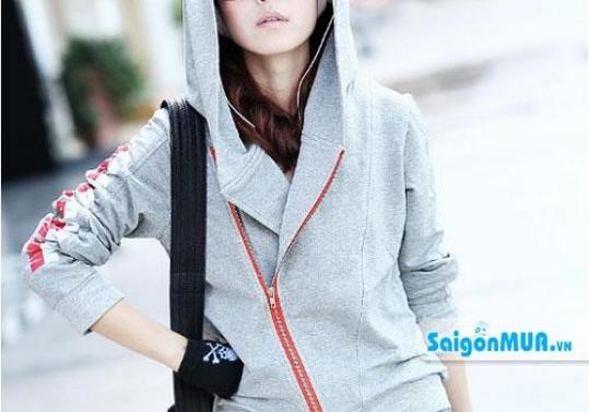 Áo khoác xéo Hàn Quốc kiểu dáng trẻ trung mang đến phong cách thời trang, cá tính và năng động. Giá ...