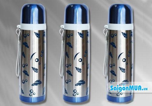 Bình giữ nhiệt inox 500 ml Với thiết kế từ inox, những chiếc bình này chịu được chấn động và bền hơn ...