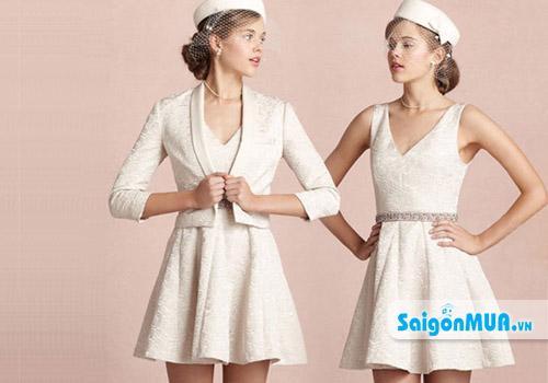 Đầm Ren Phối Váy Xòe chất liệu ren cao cấp phối với chân váy voan mềm cho bạn thêm dịu dàng và đáng ...