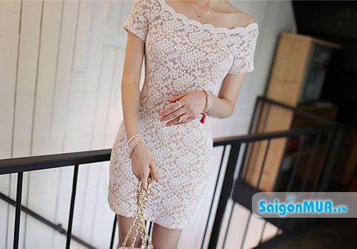 Đầm Ren Body thiết kế tinh tế, hiện đại tôn vẻ dịu dàng và làm nổi bật đường cong quyến rũ cho phái ...