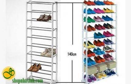 Shop Nhà Xinh - Ke de giay 10 tang Amazing Shoes