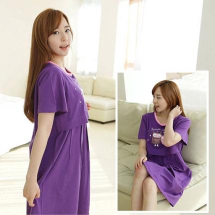 Shop Nhà Xinh - Vay bau ket hop cho con bu Lovely Owl NX55-1