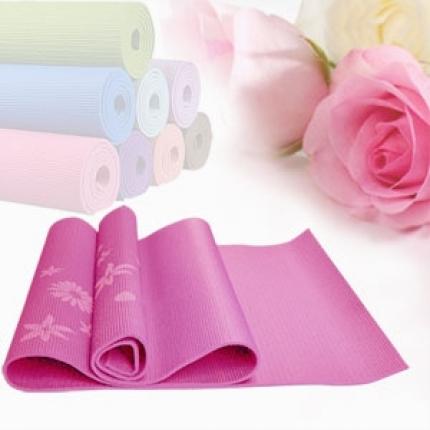 Shop Nhà Xinh - Tham tap yoga co hoa van cao cap (kem tui dung)