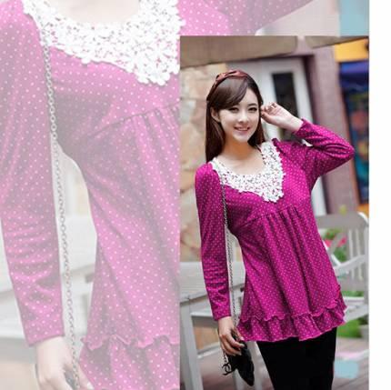 Shop Nhà Xinh - Ao bau theu ren thoi trang NX0828