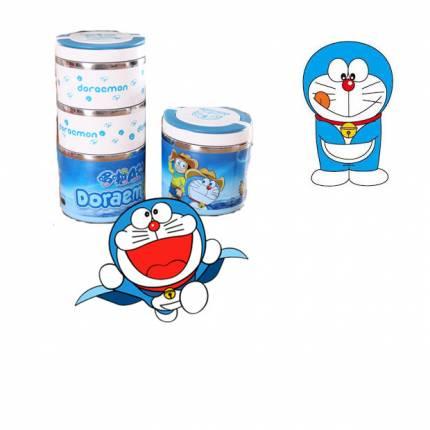 Shop Nhà Xinh - Cap long com giu nhiet 3 tang inox Doreamon NX203