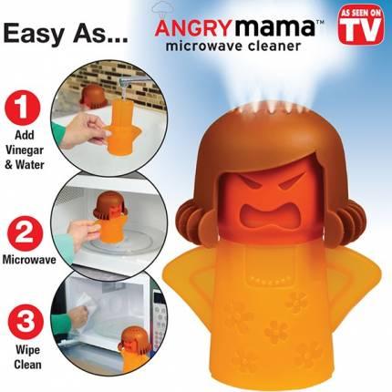 Shop Nhà Xinh - Bup be Angry Mama lam sach lo vi song thong minh NX215